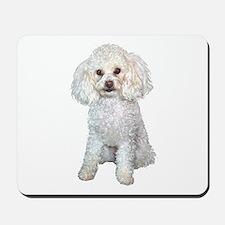 Poodle - Min (W) Mousepad