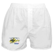 Girl Helicopter Pilot Boxer Shorts