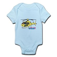 Girl Helicopter Pilot Infant Bodysuit