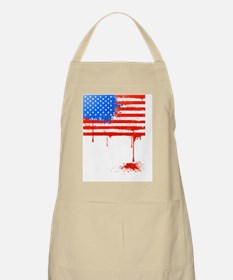 Bleeding American Flag Apron