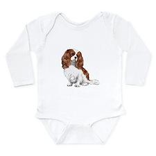 Cavalier (blenheim2) Long Sleeve Infant Bodysuit