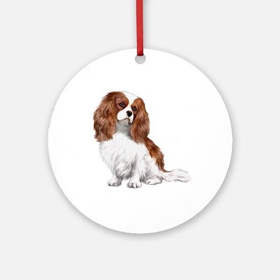 Cavalier (blenheim2) Ornament (Round)