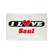 I Love Saul Rectangle Magnet