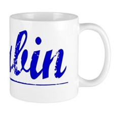 Durbin, Blue, Aged Mug
