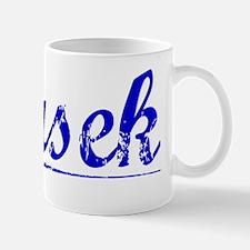 Dusek, Blue, Aged Mug