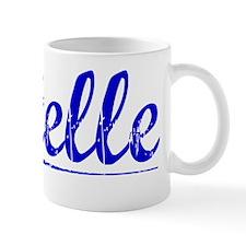 Estelle, Blue, Aged Mug