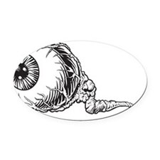 Eyeball Oval Car Magnet