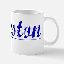 Eccleston, Blue, Aged Mug