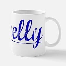Farrelly, Blue, Aged Mug