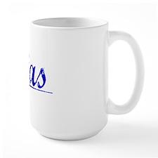 Elias, Blue, Aged Mug