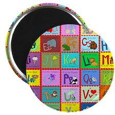 alphabet soup creations Magnet