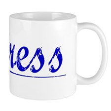 Fentress, Blue, Aged Mug