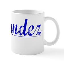 Fernandez, Blue, Aged Mug