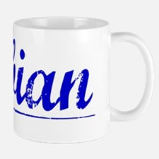 Fabian, Blue, Aged Mug