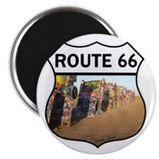 Route 66 - Cadillac Ranch Magnet