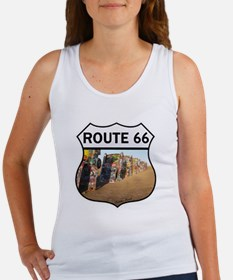 Route 66 - Cadillac Ranch Women's Tank Top
