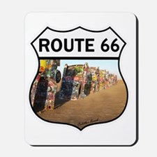 Route 66 - Cadillac Ranch Mousepad
