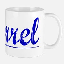 Farrel, Blue, Aged Mug