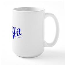 Fargo, Blue, Aged Mug