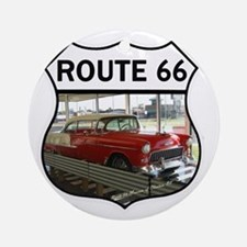 Route 66 Museum - Clinton, OK Round Ornament