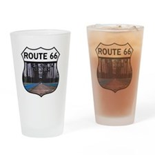 Route 66 - Old Chain of Rocks Bridg Drinking Glass