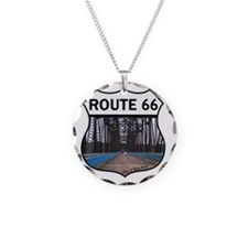 Route 66 - Old Chain of Rock Necklace
