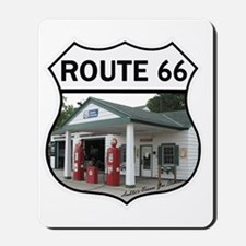 Route 66 - Amblers Texaco Gas Station -  Mousepad