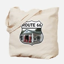 Route 66 - Amblers Texaco Gas Station - D Tote Bag