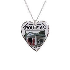 Route 66 - Amblers Texaco Gas Necklace