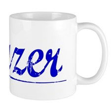 Frazer, Blue, Aged Small Mug