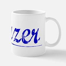 Frazer, Blue, Aged Small Small Mug