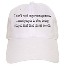 Anger management Cap