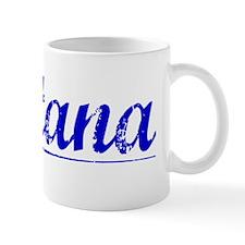 Fontana, Blue, Aged Mug