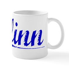 Flinn, Blue, Aged Mug