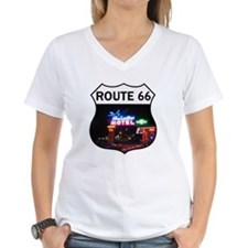 Route 66 - Blue Swallow Mot Shirt