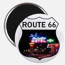 Route 66 - Blue Swallow Motel, Tucumcari, N Magnet