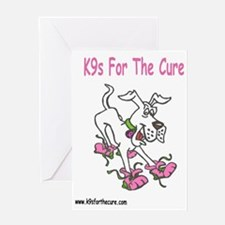 k9s For The Cure Greeting Card