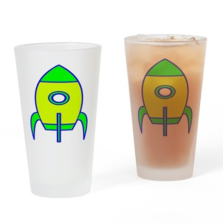 Rocket Drinking Glass