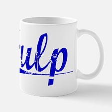 Fulp, Blue, Aged Mug