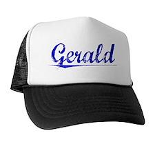 Gerald, Blue, Aged Trucker Hat