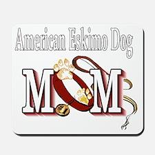 American Eskimo Mom Mousepad