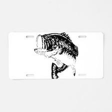 Fishing - Fish Aluminum License Plate