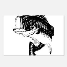 Fishing - Fish Postcards (Package of 8)