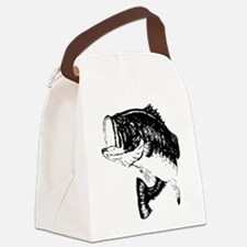 Fishing - Fish Canvas Lunch Bag