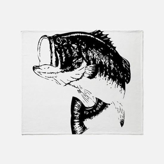 Fishing - Fish Throw Blanket