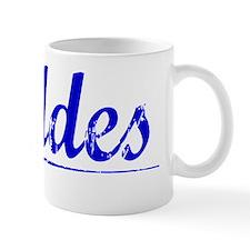 Geddes, Blue, Aged Mug