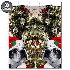 Boston Terrier flip flops Puzzle
