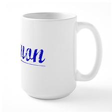 Gannon, Blue, Aged Mug