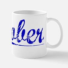 Gober, Blue, Aged Mug