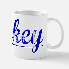 Gokey, Blue, Aged Mug